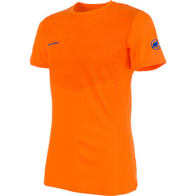 Mammut Moench Light Shortsleeve Shirt Men orange